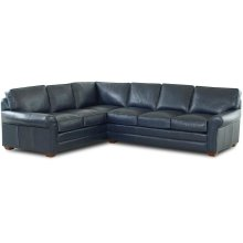 Troupe Leather Sectional