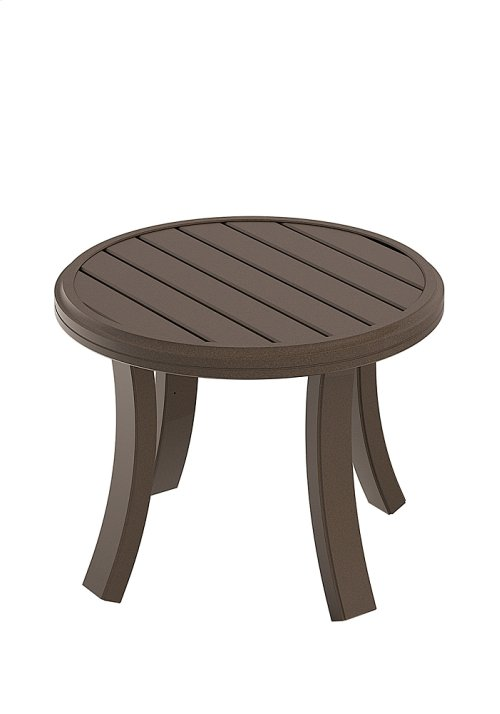 "Banchetto 24"" Round Tea Table"
