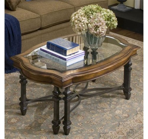 HOT BUY CLEARANCE!!! Octavia Rectangular Coffee Table August Morning/Stardust finish