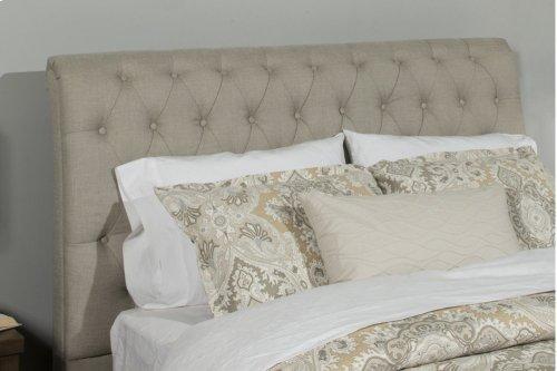 Napelton Cal King Bed - Sandstone Linen