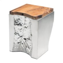 Luxe Side Table Natural&ss