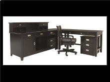 "Teton File Cabinet, w/Caster, Black, 18""x22""x24"""