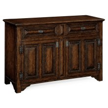 """Tudorbethan"" Dark Oak Side Cabinet"