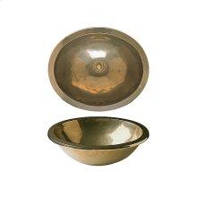 Ellipse Sink - SK319 Silicon Bronze Brushed