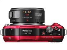 LUMIX® GF3X 12.1 Megapixel Compact System Camera [3X] Premium X Series 14-42mm Power Zoom Lens Kit