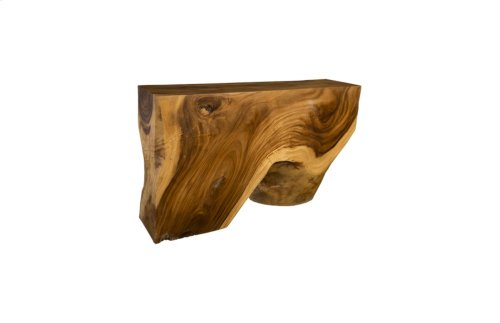 Chamcha Wood Console Table, Medium