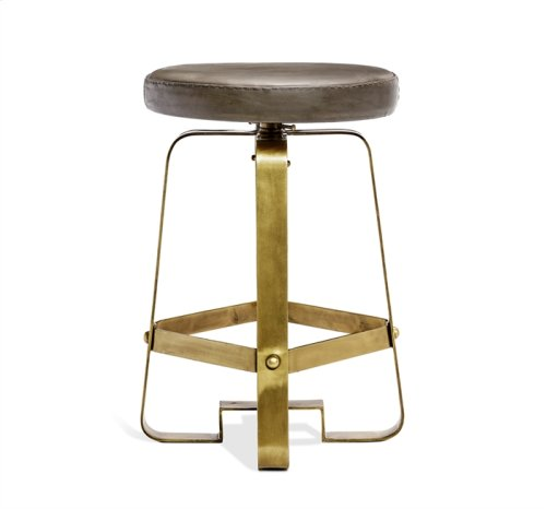 Mason Adjustable Stool - Brass