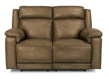 Brody Leather Power Reclining Loveseat with Power Headrests