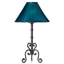 Forged Iron Table Lamp 032 (without shade)