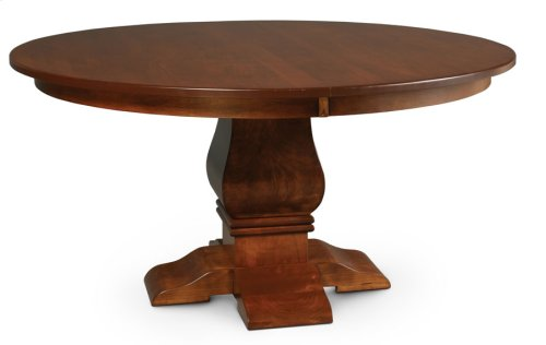 """Franciscan Round Table, 18"""" Butterfly Leaf"""