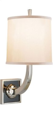 Visual Comfort BBL2025SS-S Barbara Barry Petal 1 Light 8 inch Soft Silver Decorative Wall Light