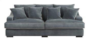 Emerald Home Caresse Sofa W/4 Pillows Marine Dark Brown Legs U3174-00-08 Product Image