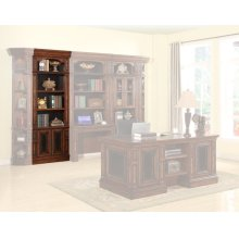 Leonardo 32 in. Open Top Bookcase