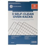 """GE ®self-Clean Oven Racks (3pk) - For Select Free-Standing 30"""" Gas Ranges"""
