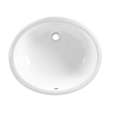 Ovalyn Undercounter Bathroom Sink - American Standard - White