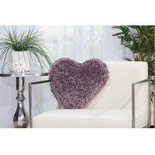 """Shag Tl001 Lavender 18"""" X 18"""" Throw Pillows"""