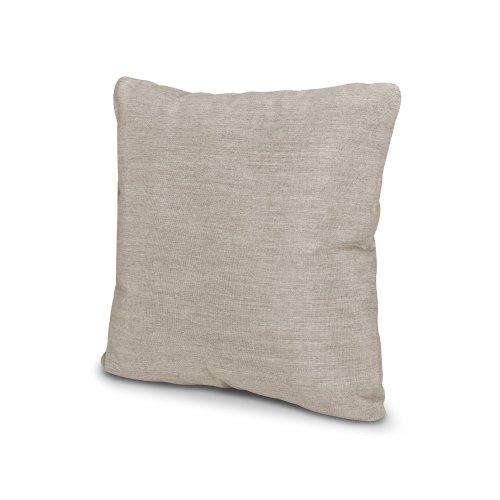 "Cast Ash 16"" Outdoor Throw Pillow"