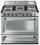 """Free-standing Dual Fuel Cavity """"Victoria"""" Range Approx. 36"""" Stainless Steel Product Image"""