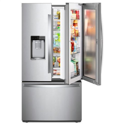 Whirlpool® 36-inch Wide Counter Depth French Door-within-Door Refrigerator - 24 cu. ft. - Fingerprint Resistant Stainless Steel