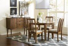 Round Dining Table - Cinnamon Finish