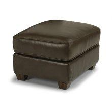 Carson Leather Ottoman