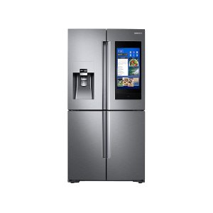 28 cu. ft. 4-Door Flex with 21.5 in. Connected Touch Screen Family Hub Refrigerator - FINGERPRINT RESISTANT STAINLESS STEEL