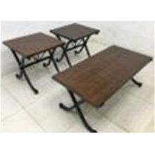 Industrial Brown Three-piece Set