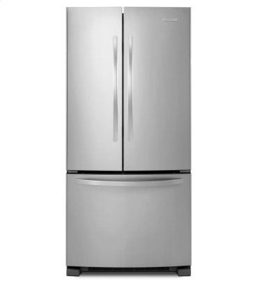 22 Cu. Ft. Standard-Depth French Door Refrigerator, Architect® Series II - Stainless Steel