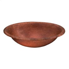 Fired Copper Matisse Bath Sink