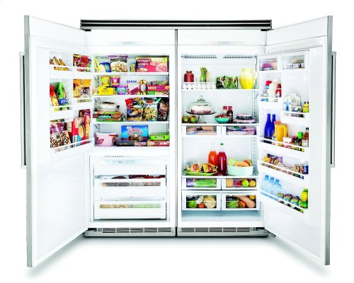 "36"" Custom Panel All Freezer, Right Hinge/Left Handle"