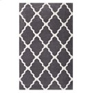 Marja Moroccan Trellis 8x10 Area Rug in Charcoal and Ivory Product Image