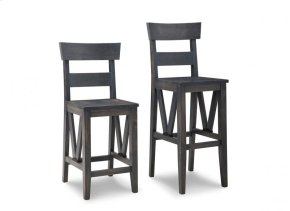"""Chattanooga 24"""" Counter Chair With Leather Seat"""