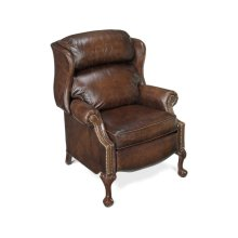 Bradington Young Maxwell Ball And Claw Reclining Wing Chair 4115