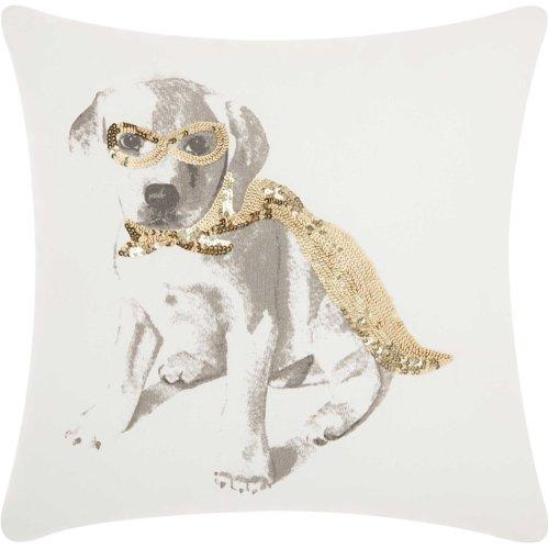 "Trendy, Hip, New-age Jb058 Gold 18"" X 18"" Throw Pillows"