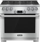 HR 1134-1 LP 36 inch range All Gas with DirectSelect, Twin convection fans and M Pro dual stacked burners Product Image