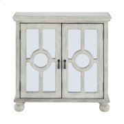 Accent Chest with Mirror Door-Antique White, 3A Product Image