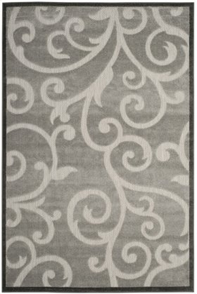 Cottage Power Loomed Large Rectangle Rug