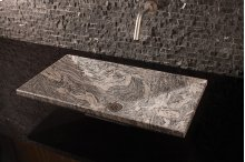 Verona Vessel Sink, 36 Cumulo Granite
