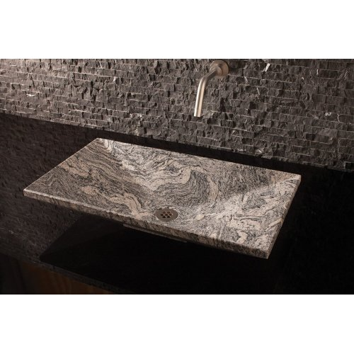 Verona Vessel Sink, 36 Cumulo Granite