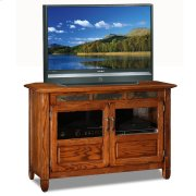 """Rustic Oak 46"""" TV Stand #89046 Product Image"""