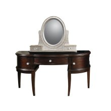 Glamour Desk Vanity w/Stool