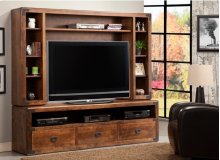 Saratoga HDTV Cabinet with Hutch 54'' TV Opening