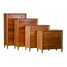 Shaker 3-4-5-6 Drawer Chests