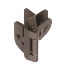 Self-closing, Double Demountable 3/8in(10mm) Inset Hinge