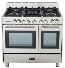 "36"" Dual Fuel Single Oven Range Stainless Steel"