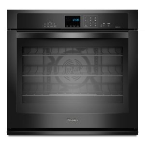 Gold® 5.0 cu. ft. Single Wall Oven with SteamClean Option - BLACK