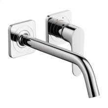 Chrome Citterio M Wall-Mounted Single-Handle Faucet Trim, 1.2 GPM