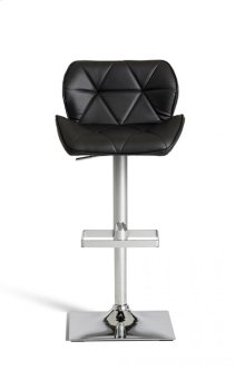 Modrest Otto Modern Black Leatherette Bar Stool