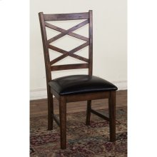 Savannah Dbl Crossback Chair, Cushion Seat