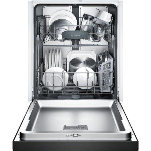 24' Recessed Handle Dishwasher 300 Series- Black